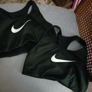 Nike sports bras lot of 2 size small
